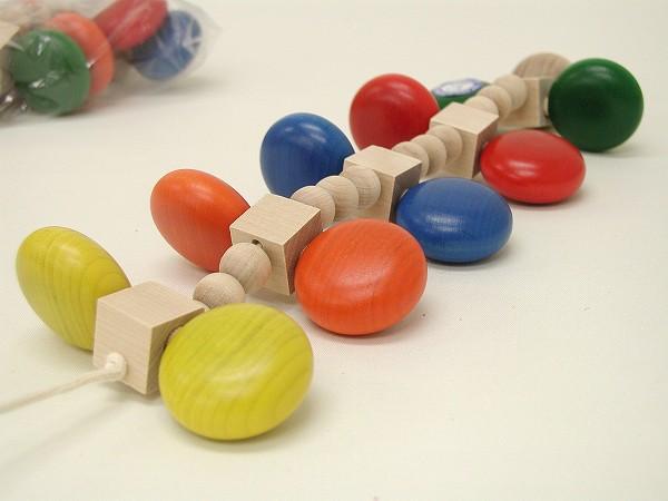 引っぱるおもちゃ ユシラ社(JUSSILA) カラームカデ