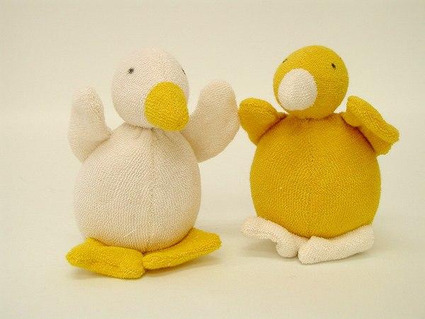 布のおもちゃ ナンヒェン(NANCHEN) ナンヒェン社 NAラトル・あひる