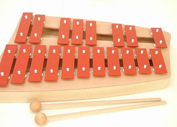 鉄琴 ゾノア社(SONOR) 二段メタルフォン NG30