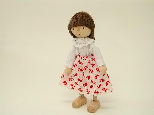 ドールハウス・人形 ヘアヴィック社 ドールハウス用人形・お母さん