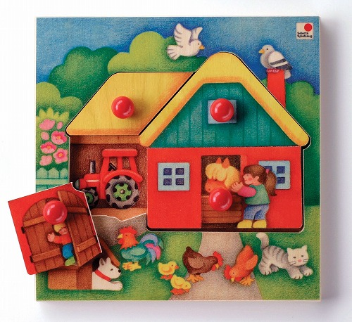 パズル セレクタ社(Selecta) とびらパズル農場