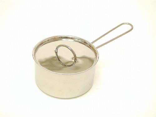 ままごと・調理器具 ケーファー社(Gluckskafer)  ステンレス片手なべ