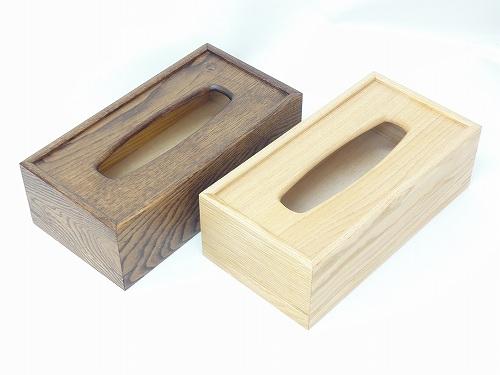 木製テイッシュケース