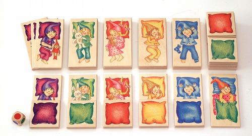 カードゲーム・3歳~ セレクタ社(Selecta) 色いろおふとん