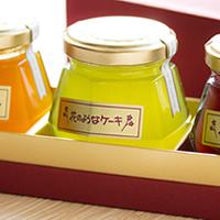フルーツジャムセット 3種類 【無着色】【無添加】【送料無料】