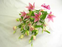 【花束:スタンダード】ピンク系