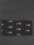 唐花文様 印度更紗 半巾帯