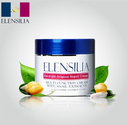 ELENSILIA ★50グラム、カタツムリ クリーム 80%エキス,容器変変更新商品