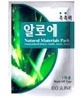 韓国化粧品ALOE 洗い流すタイプミニパック