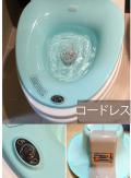 痔と産後の座浴、、自動泡たちの、空気泡の座浴器 販売開始 ソフト座浴器ー家庭用、病院個人用