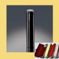 銀行印・実印・認印 銀行印・認印 チタン印鑑 ミラーブラック 12mm ケース付