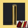 銀行印・実印 チタン印鑑 ミラーゴールド 15mm ケース付