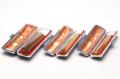 実印・銀行印・認印 オランダ水牛 色上 15+12+10.5mm 3本モミ皮ケース付セット
