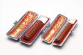 銀行印・認印 彩樺 12mm+10.5mm 2本モミ皮ケース付セット