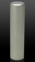 チタン(ブラスト) 認印 15.0mm×60mm (高級印鑑ケース付き)