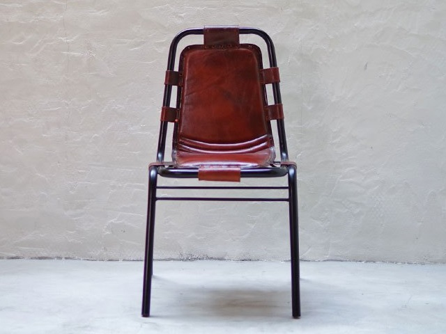 IRON LEATHER CHAIR アイアン レザーチェア LIFE FURNITURE ライフファニチャー