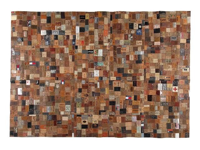 RUG NEW PATCHWORK-22 MULTI ラグ ニュー パッチワーク マルチ 200×140