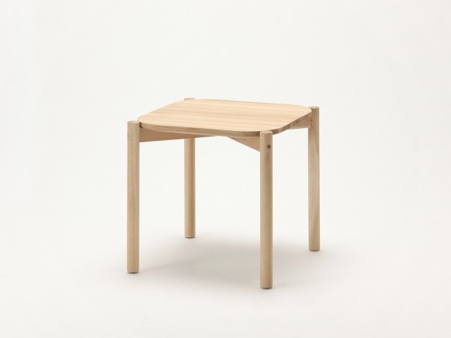 CASTOR LOW TABLE 50 キャストールローテーブル50 KARIMOKU NEW STANDARD カリモクニュースタンダード
