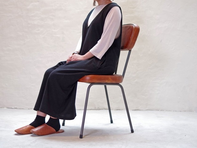 AN LEATHER CHAIR AN レザーチェア LIFE FURNITURE ライフファニチャー