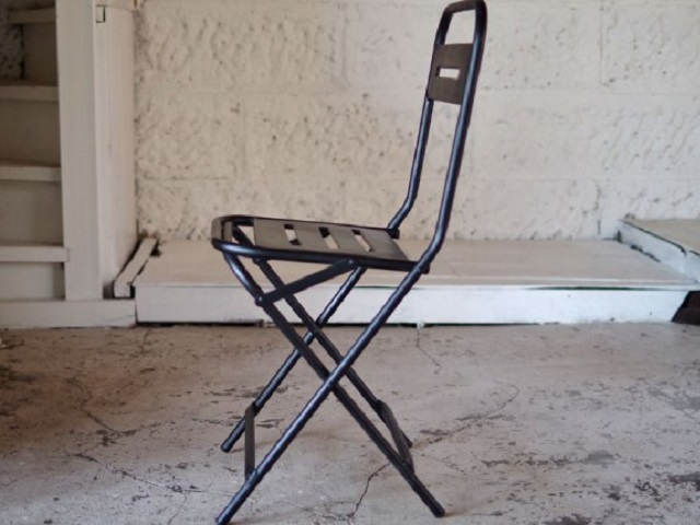 IRON FOLDING CHAIR アイアンフォールディングチェア LIFE FURNITURE ライフファニチャー 折り畳み椅子