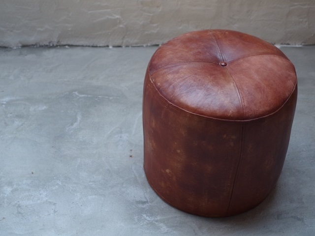 CY LEATHER STOOL CY レザースツール LIFE FURNITURE ライフファニチャー