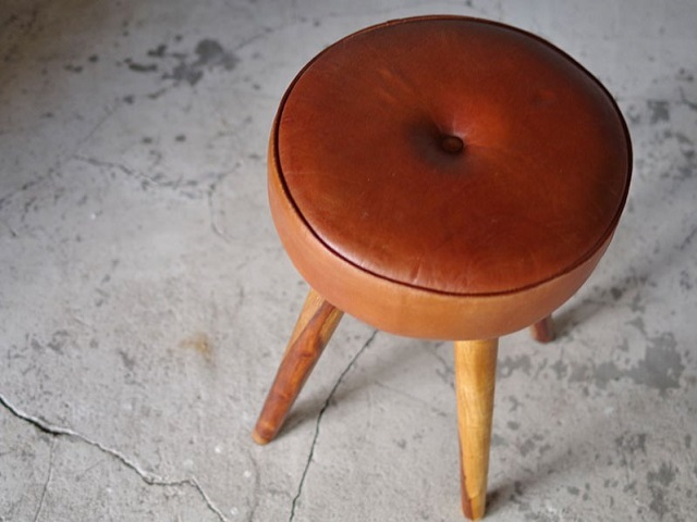 SF LEATHER STOOL SF レザースツール LIFE FURNITURE ライフファニチャー