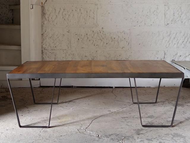 IRON COFFEE TABLE アイアンコーヒーテーブル LIFE FURNITURE ライフファニチャー
