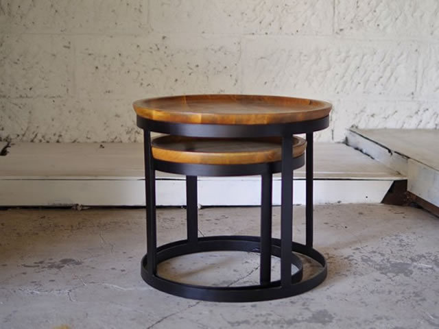 CY IRON COFFEE TABLE CYアイアンコーヒーテーブル LIFE FURNITURE ライフファニチャー