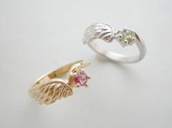 天使が落とした羽根のピンキー