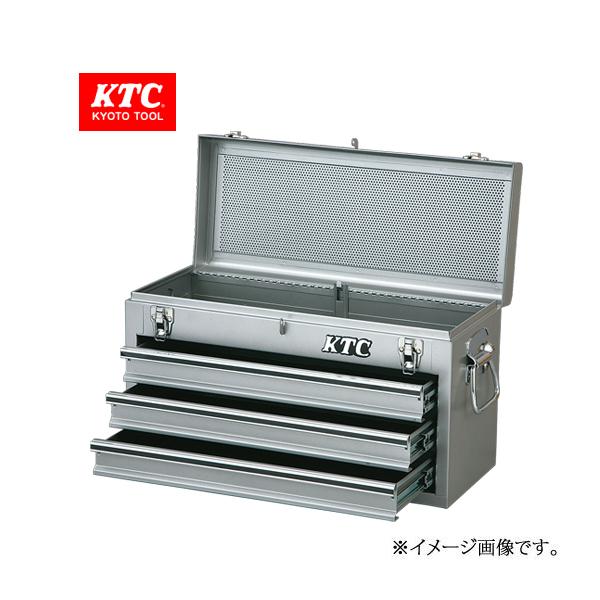 KTC チェスト(3段3引出し)   SKX0213S(シルバー)