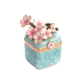 小枝桜(ブルー) 宝石箱・小物入れ