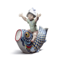 LLADRO (リヤドロ) 鯉のぼり