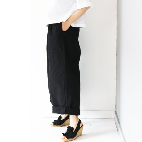 Weather Cotton Roomy Long Pants