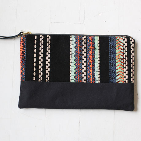 Mini Clutch Bag / French tweed