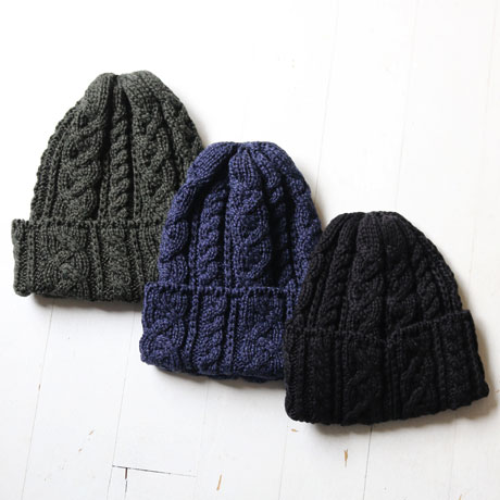 Cotton Cable Watch Cap