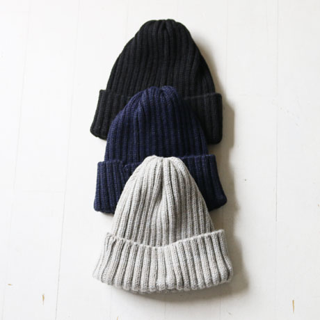 Wool Rib Watch Cap