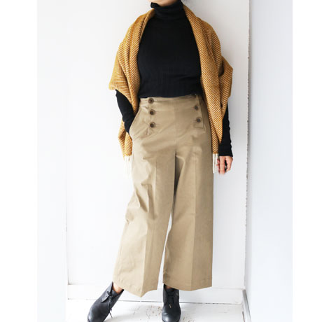 Marine Wide Pants