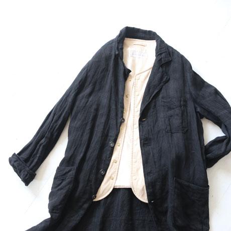 Linen Herringbone coat