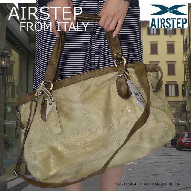 レザーショルダーバッグ レザーボストンバッグ 2Wayレザーバッグ インポートブランド レザーバッグ レザーバック 本革 鞄 かばん メンズ レディース AIRSTEP 151454