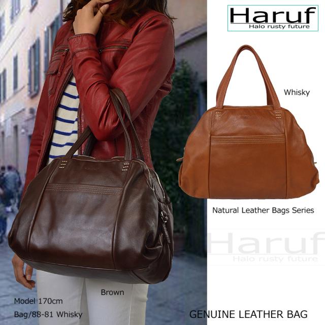 レザーバッグ 本革バッグ レザーバック レディースバッグ 軽量レザーバッグ haruf leather ブランド bag 882341