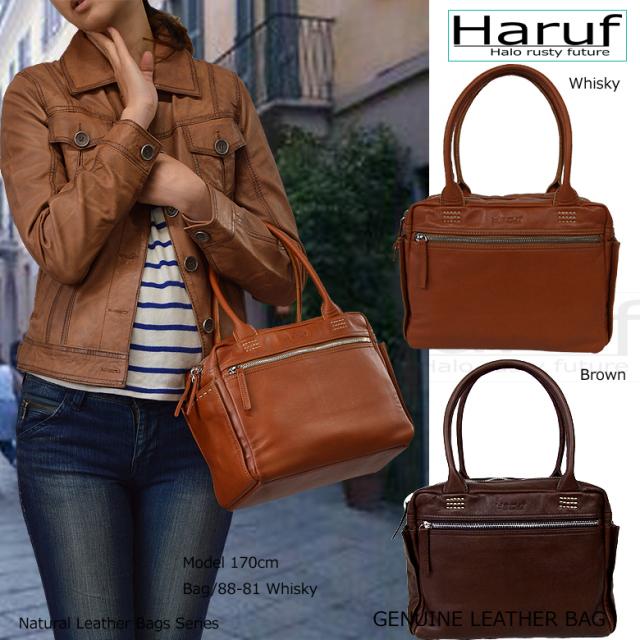 レザーバッグ レディース 本革レザーバッグ レディース 小さめレザーバック haruf leather ブランドbag 8881