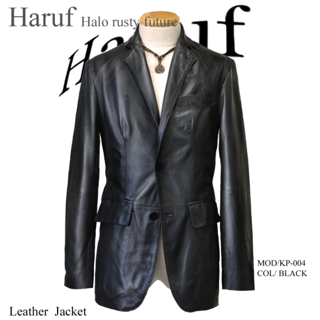 レザージャケット メンズ 本革テーラードジャケット アウター 革ジャケット 革ジャン 皮ジャケット ブラック 黒
