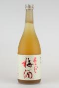 梅乃宿 あらごし梅酒 720ml 【奈良/梅乃宿酒造】