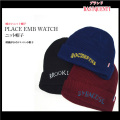 PLACE EMB WATCHニット帽子【BASIQUENTI】(NEW)