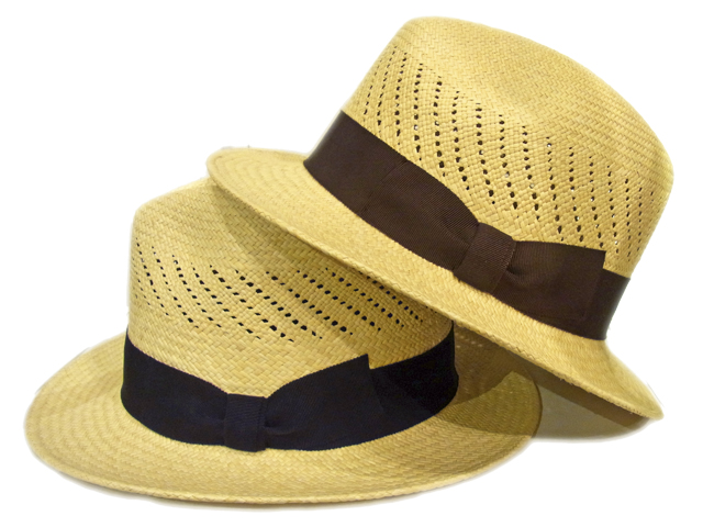 【KNOWLEDGE(ナレッジ)オリジナル】 Short Western Panama Hat(日本製)