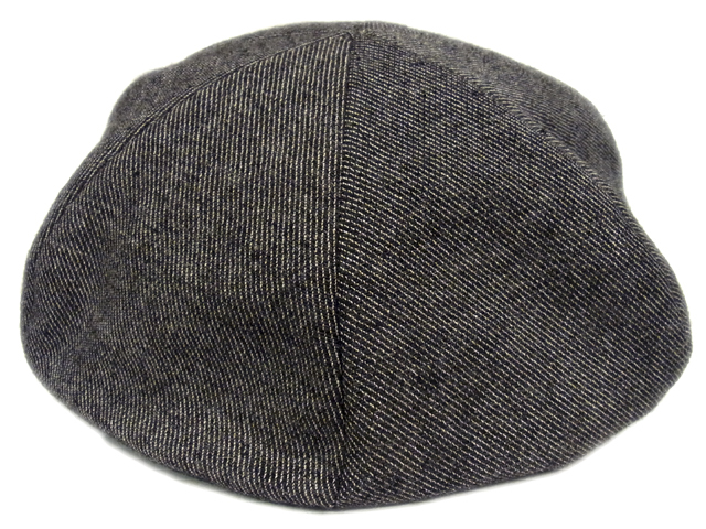 【KNOWLEDGE(ナレッジ)オリジナル】 Wool Semi Wide Cas(日本製)