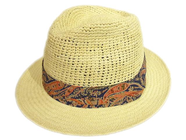 【CHRISTYS'(クリスティーズ)】 Crochet Panama Hat(イギリス製)