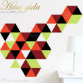 【チョークボード・パターン】[形:正三角形][カラー:Bグループ]チョークで描ける 貼ってはがせる ウォールステッカー/実用新案登録第3207058号