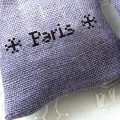 【メール便対応】【アイロンで布に転写できる】フロッキー転写シート パリ(黒)