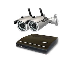 防犯カメラ ワイヤレス 屋外 防犯カメラ2台  高画質録画 対応セット  DVR-HDC04DX2